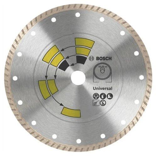 Фото - Диск алмазный отрезной BOSCH Universal Turbo 2609256408, 125 мм 1 шт. диск алмазный отрезной bosch standard for universal turbo 2608602395 150 мм 1 шт
