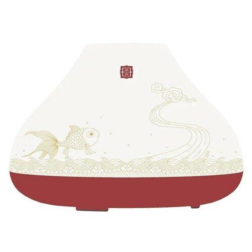 Увлажнитель-Ароматизатор портативный Xiaomi (Mi) SOLOVE (H7 Forbidden City) красно-белый