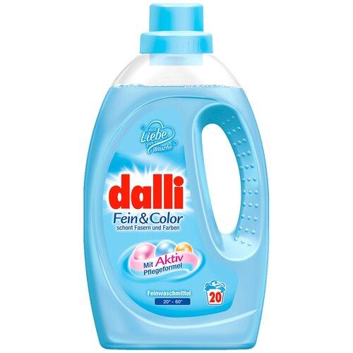 Фото - Гель для стирки Dalli Fein & Color для деликатного цветного белья, 20 стирок, 1.1 л, бутылка гель для стирки dalli sport