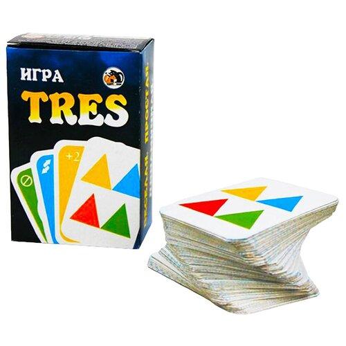 Фото - Игра настольная карточная TRES (как UNO) настольная игра уно дисплей uno
