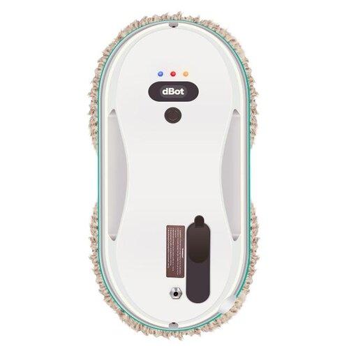 Робот-стеклоочиститель dBot W200 белый/голубой