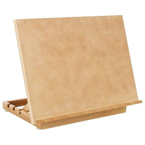 Купить Мольберт ГАММА настольный планшетный Студия А3 (211220203) натуральный, Доски и мольберты