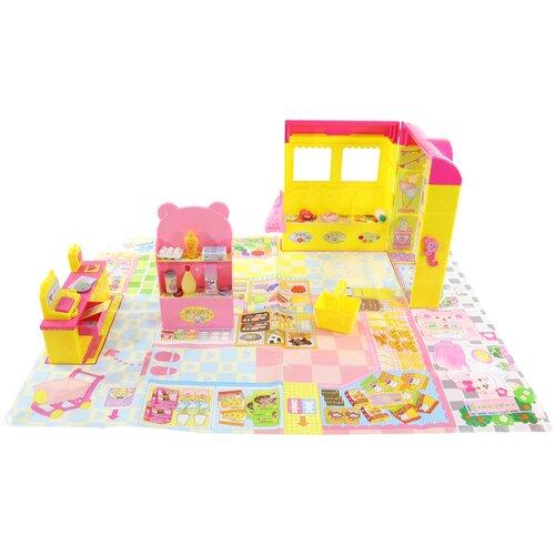 Kawaii Mell Супермаркет для куклы Мелл, желтый/розовый