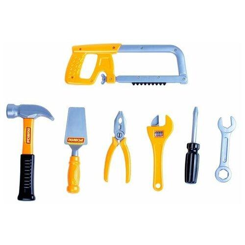 Купить Полесье Набор инструментов №14, 7 элементов (в пакете) (59291), Детские наборы инструментов