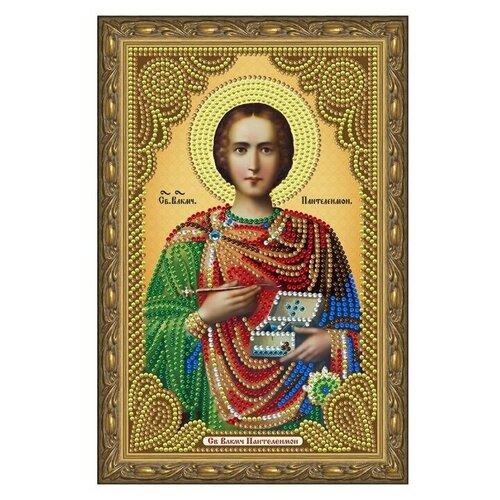 Купить Алмазная живопись иконы Color Kit Святой Великомученик Целитель Пантелеймон, Алмазная мозаика