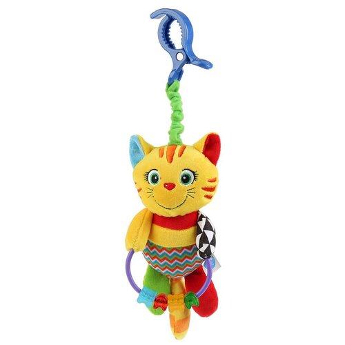 Фото - Подвесная игрушка Умка Игривый котенок (RTM-C4) желтый/красный/зеленый игрушка для ванной умка бегемотик b1410463 r красный желтый зеленый