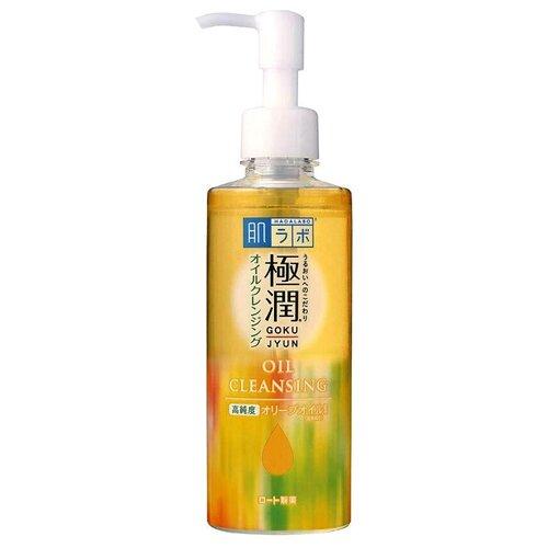 Купить Hada Labo гидрофильное масло для лица с гиалуроновой кислотой Gokujyun, 200 мл