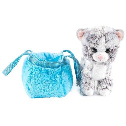 Котик в сумочке-переноске