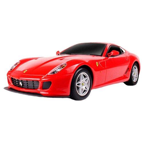 Фото - Легковой автомобиль MJX Ferrari 599 GTB Fiorano (MJX-8107) 1:20 23 см красный радиоуправляемые игрушки mjx радиоуправляемый автомобиль 1 20 ferrari california