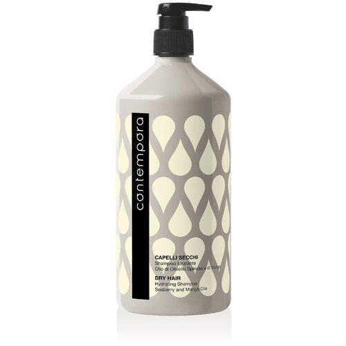 Barex шампунь Contempora Dry Hair Hydrating Shampoo увлажняющий с маслом облепихи и маслом манго, 1 л  - Купить