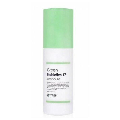 Купить Сыворотка с пробиотиками и зеленым чаем Eyenlip Green Probiotics 17 Ampoule