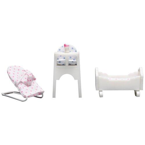 Lundby Набор мебели для детской Смоланд (LB_60208600) белый