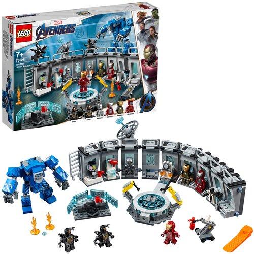 Конструктор LEGO Marvel Super Heroes 76125 Avengers Лаборатория Железного человека
