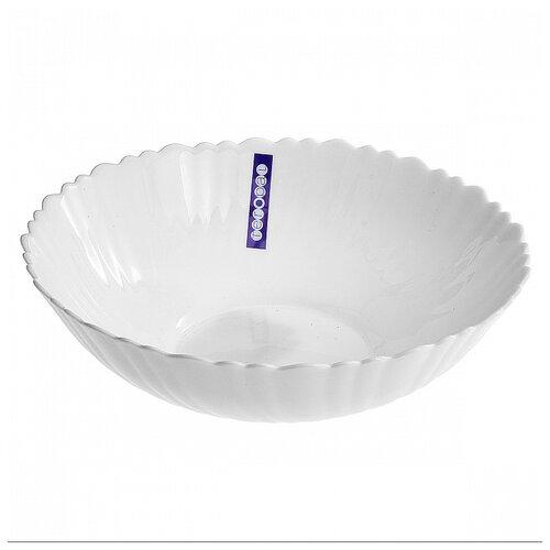 Фото - Салатник круглый 23см белый, стеклокерамика салатник teropal 0001d9 50 sk asti 21 5 см