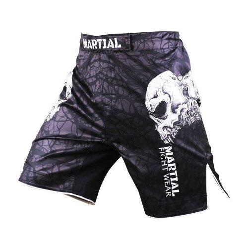 Шорты ММА Athletic pro. Skull MS-9 L шорты мма athletic pro skull ms 9 l