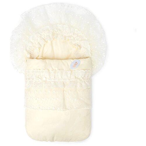 Фото - Конверт на выписку Золотой Гусь Венеция, 6 предметов молочный конверт на выписку золотой гусь венеция 6 предметов молочный