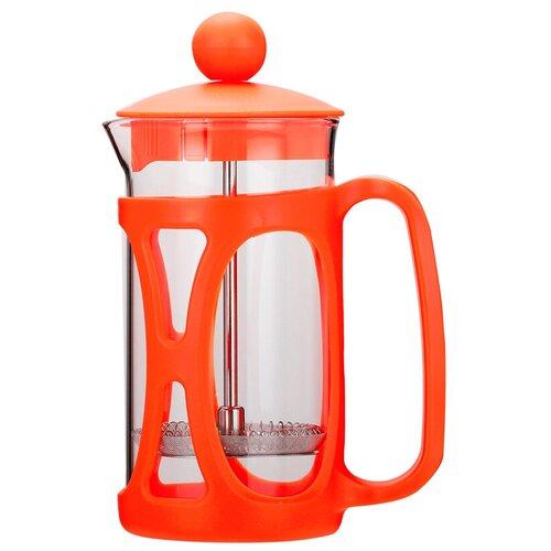 Френч-пресс TimA Маффин PM-350 (0,35 л) оранжевый