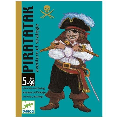 Фото - Настольная игра DJECO Карточная игра Пират настольная игра djeco карточная игра чик чирик