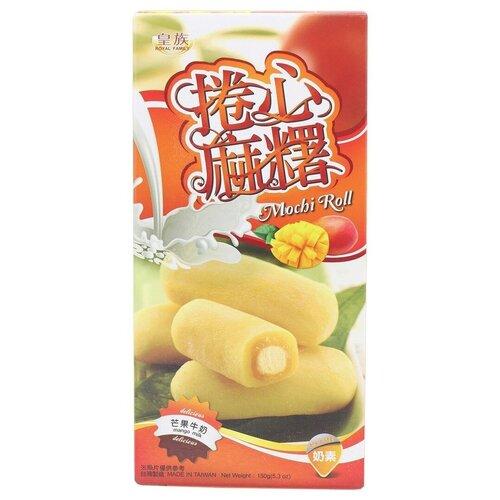 Моти Royal Family Mochi Roll молочный с манго 150 г