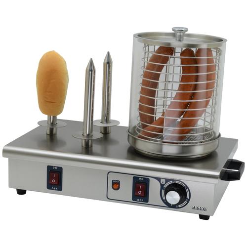 Аппарат для хот-догов Airhot HDS-03 серебристый