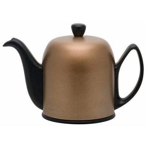 Фарфоровый бронзовый заварочный чайник, 900 мл, Guy Degrenne недорого