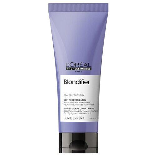 Купить L'Oreal Professionnel кондиционер для волос Serie Expert Blondifier Gloss для сияния оттенков блонд, 200 мл
