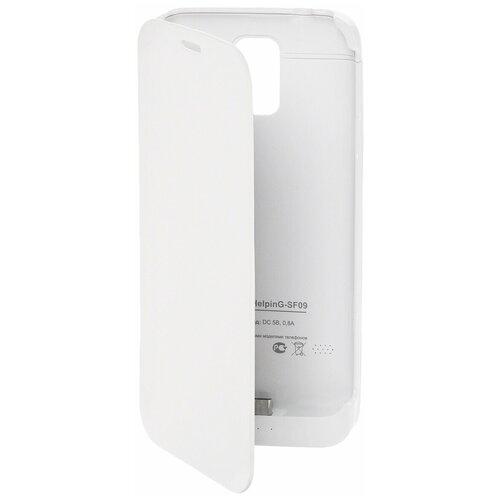 Чехол-аккумулятор для Samsung Galaxy S5 Exeq HelpinG-SF09 (белый)