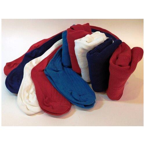 Колготки Сан-Таш, комплект 5 шт., размер 92, белый/голубой/синий/красный