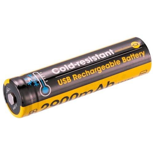 Фото - Аккумулятор Nitecore Rechargeable 18650 Li-Ion 2900 mAh NL1829RLTP аккумулятор незащищенный sanyo ncr18650bf 18650 3400мач 3 7в