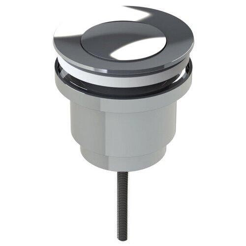 Фото - Донный клапан полуавтоматический для раковины IDDIS 001SB00i88 донный клапан полуавтоматический для ванны для раковины wasserkraft а024