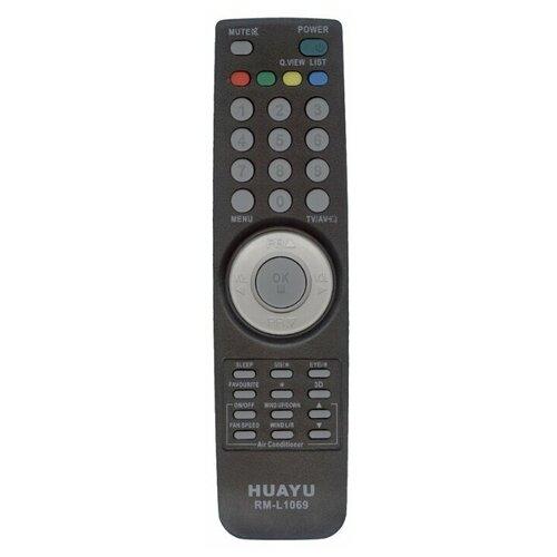 Фото - Пульт ДУ Huayu RM-L1069 для телевизоров LG, черный пульт ду huayu rm d759 для toshiba черный