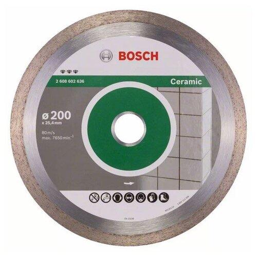Фото - Диск алмазный отрезной BOSCH Best for Ceramic 2608602636, 200 мм 1 шт. диск алмазный отрезной bosch standard for ceramic 2608602201 115 мм 1 шт