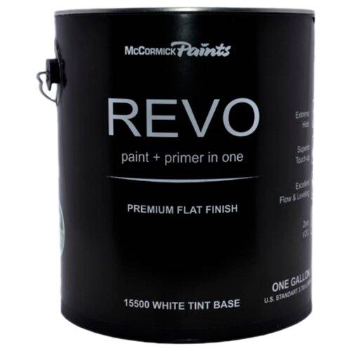 Краска акриловая McCormick Paints Revo матовая матовая белый 3.8 л
