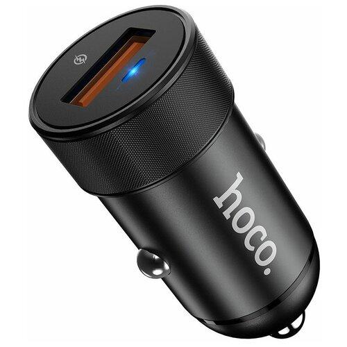 Автомобильная зарядка Hoco Z32A Flash power, черный