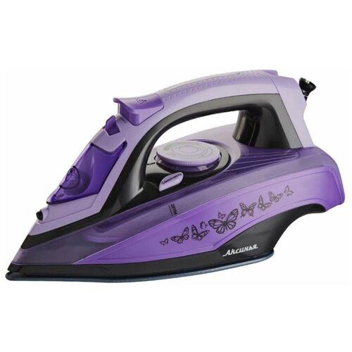 Утюг Аксинья КС-3001 фиолетовый недорого