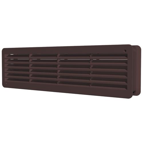 Вентиляционная решетка ERA 4513ДП 450 x 131 мм коричневый вентиляционная решетка era 4513дп 450 x 131 мм бежевый