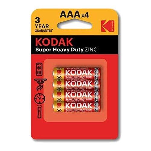 Фото - Батарейка Kodak Super Heavy Duty AAA, 4 super