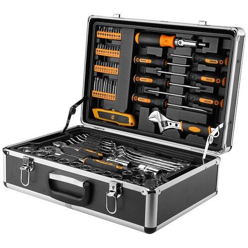 Профессиональный набор инструмента для дома и авто в чемодане DEKO DKMT95 Premium (95 предм.)