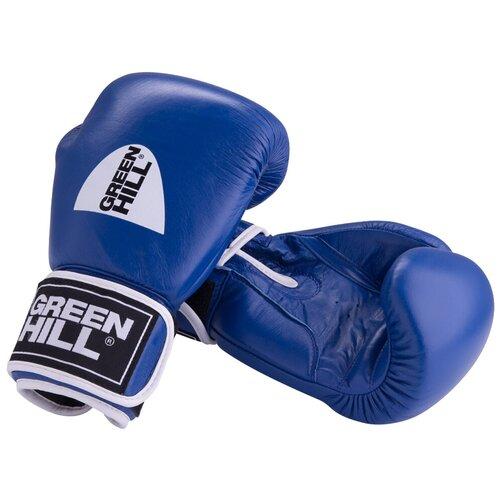 Боксерские перчатки Green hill Gym (BGG-2018) синий 10 oz боксерские перчатки green hill gym bgg 2018 синий 10 oz