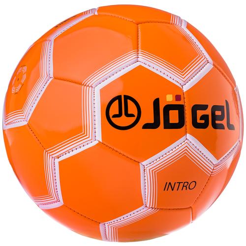 Фото - Футбольный мяч Jogel JS-100 Intro оранжевый 5 мяч jogel js 510 kids 3 ут 00012406