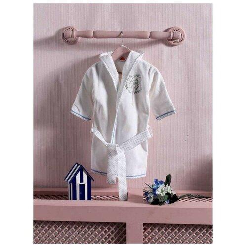 Купить Халат Kidboo размер 2(92), blue, Домашняя одежда