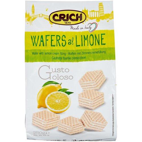 Фото - Вафли Crich Вафли Crich с лимонно-кремовой начинкой, 250 г вафли crich с ягодно кремовой начинкой 250 г
