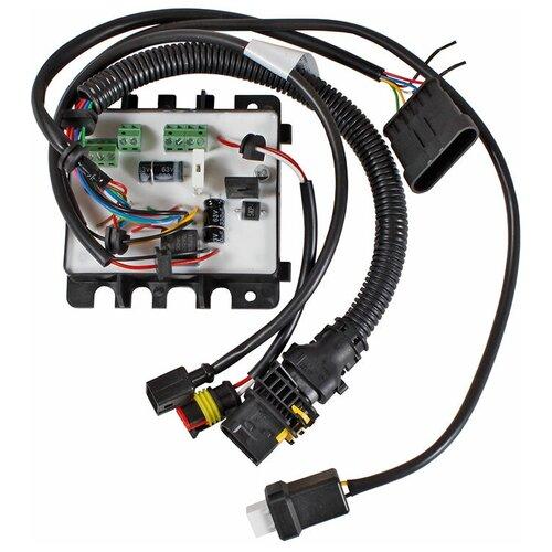 Блок управления для подогревателя Теплостар 14ТС-Mini-24-GP сб.2777 с прямоугольным герметичным разъемом