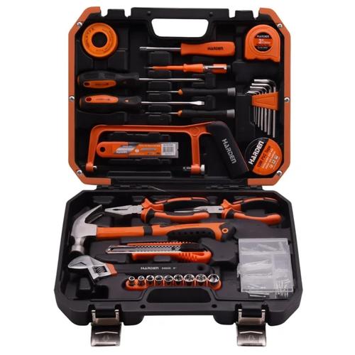 набор harden 550833 Набор инструментов Harden 511039, 39 предм., оранжевый