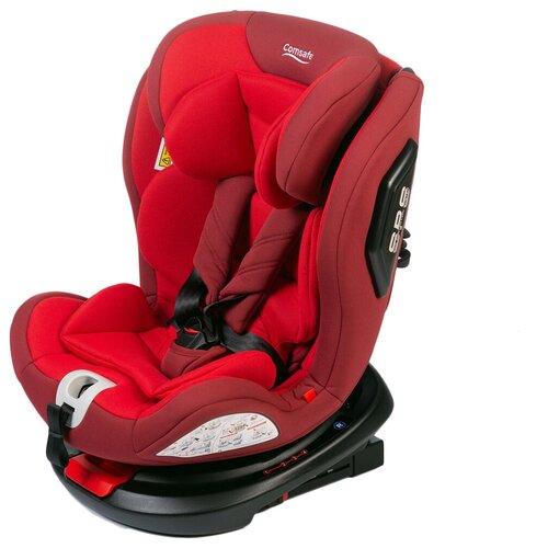 Автокресло группа 0/1/2/3 (до 36 кг) Comsafe UniGuard, red автокресло comsafe masterguard cs004 black