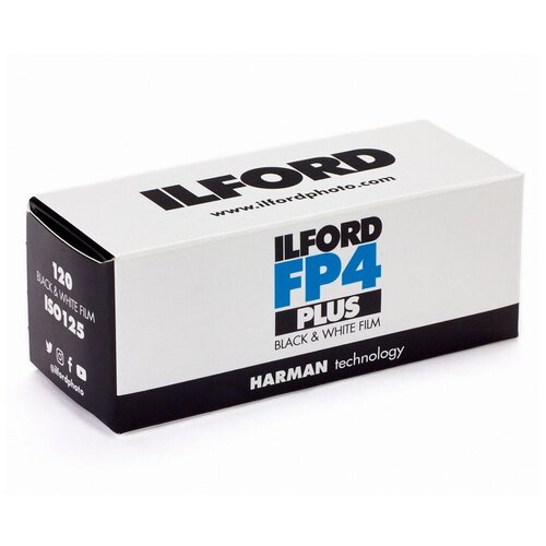 Фото - Фотопленка Ilford FP4 PLUS 125-120 фотобумага ilford multigrade rc deluxe 24 x 30 5 см перламутровая 10 л