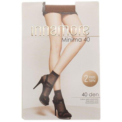 Капроновые носки Innamore Minima 40 den, 2 пары, размер UNI, daino