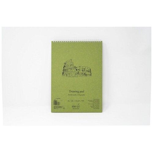 Купить Альбом SM-LT Authentic Acrylic А5 20л 290 г/м2 белый, спираль 5EB-20TS/OA, Smiltainis, Альбомы для рисования