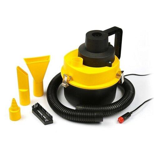 Пылесос автомобильный Torso 2710340, черный/желтый