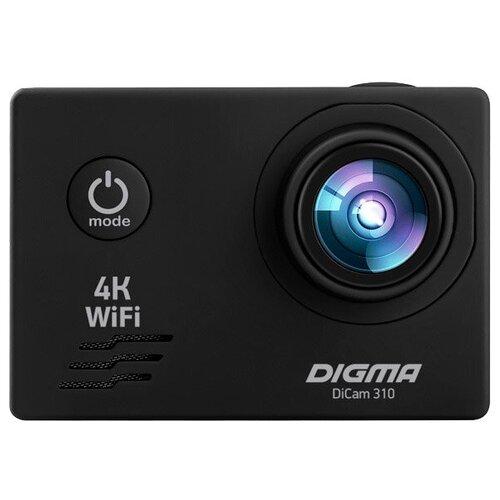 Фото - Экшн-камера DIGMA DiCam 310 черный экшн камера sony hdr as50r черный